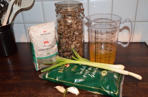 Ingredienser risotto