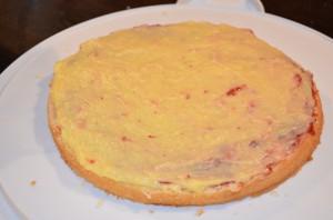 tårtbotten vaniljkräm