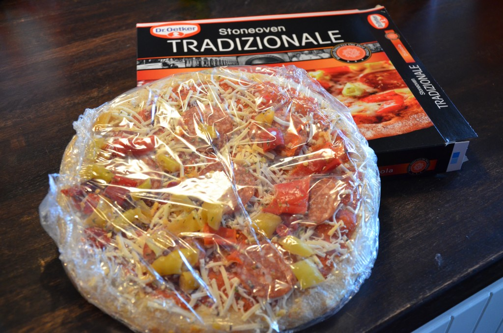 fryst pizza
