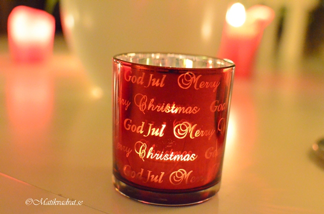 Christmas candle holder copyright
