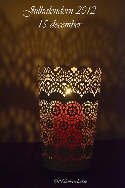 Skurar candle holder