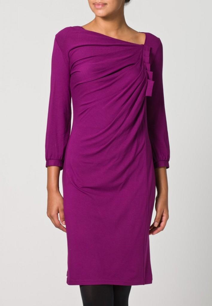 syrenlila klänning