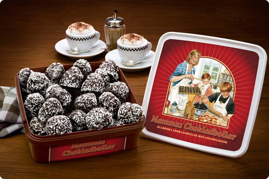 mammas chokladbollar