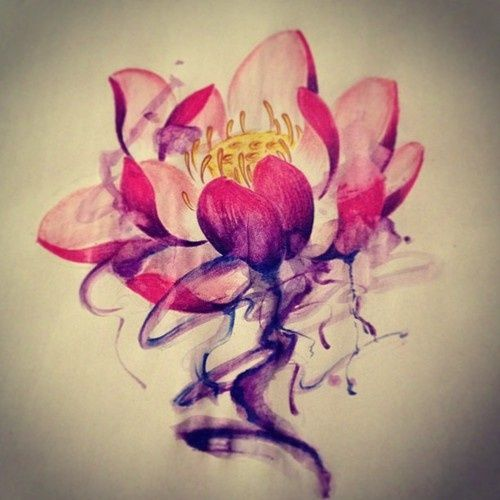 lotus i tusch