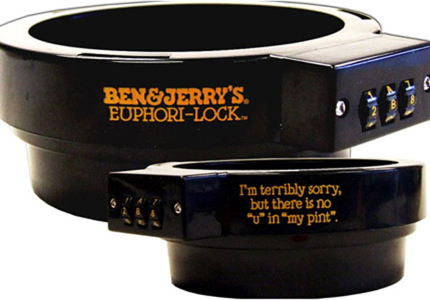 Ben & Jerrys lock
