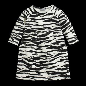 zebraklänning