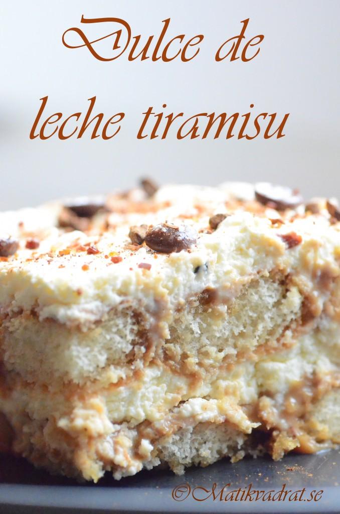 dulce de leche tiramisu