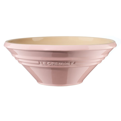 rosa degskål