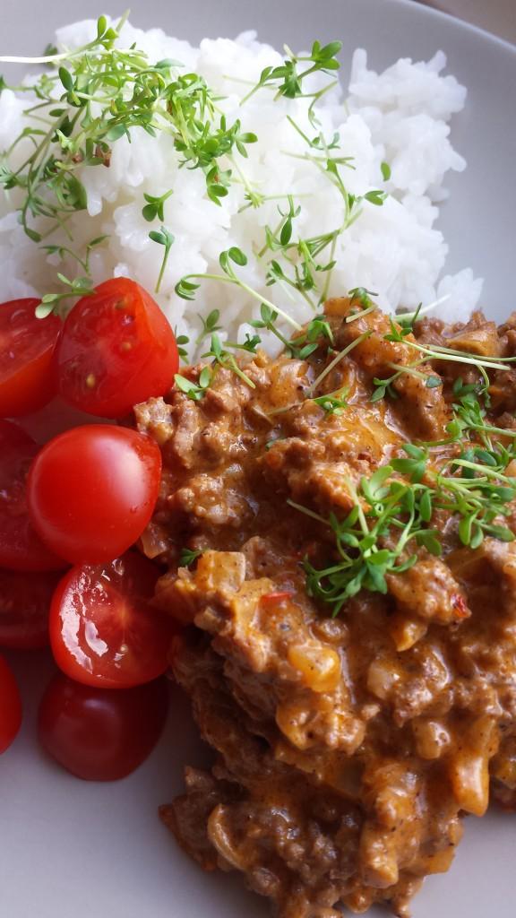 Indisk köttfärssås