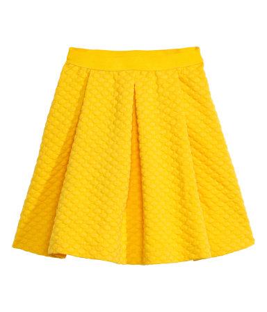 gul kjol