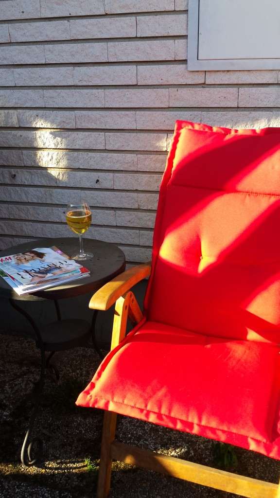 stol i solen
