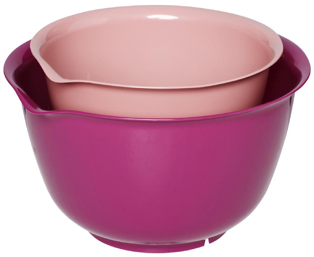 rosa skålar