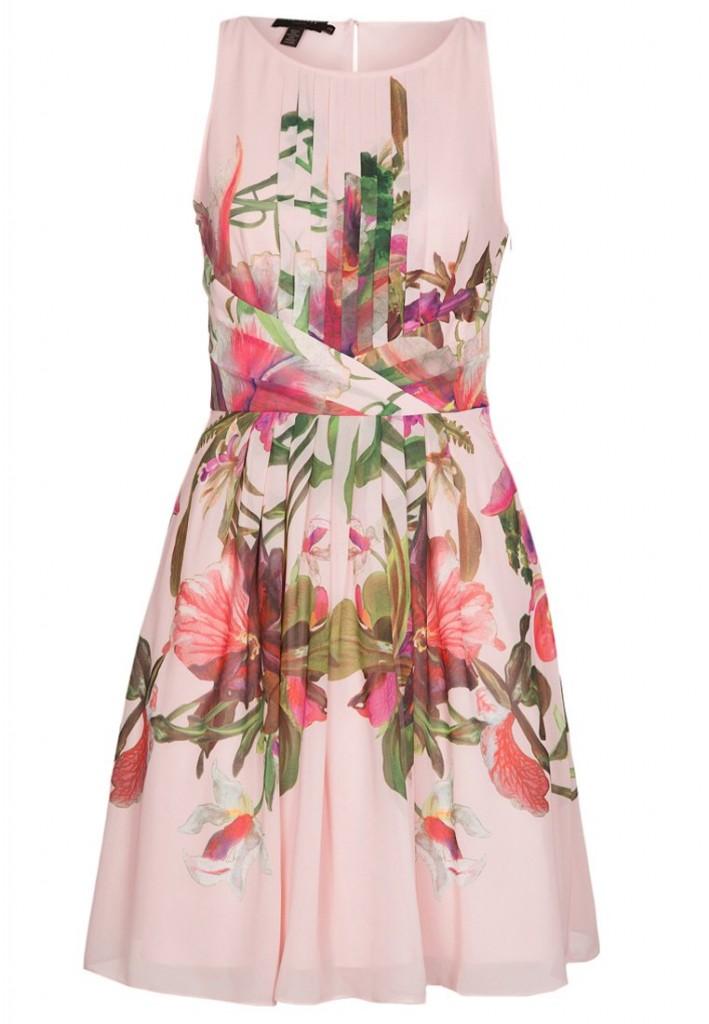 ted baker rosa klänning