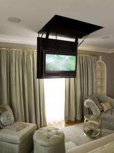 tv från taket