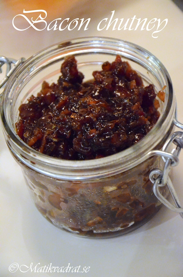 Bacon chutney copyright 2