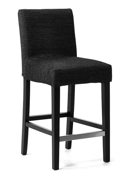 svart barstol