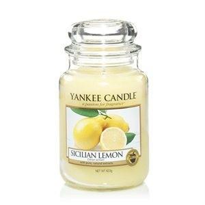 SicillianLemonLJar yankee candle
